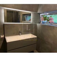 Зеркало в ванну с подсветкой и подогревом (антизапотеванием) Варна 120х90 см